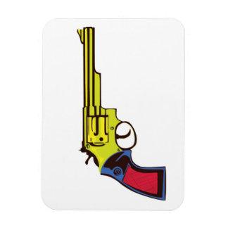 Pop Art Gun Magnet