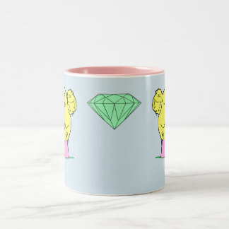 Pop Art Hair Bun Mug