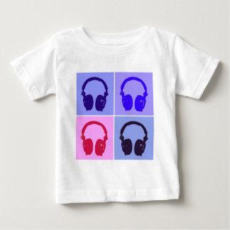 Pop Art Headphones Tee Shirt