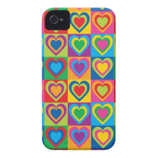 Pop Art Hearts Case-Mate iPhone 4 Case