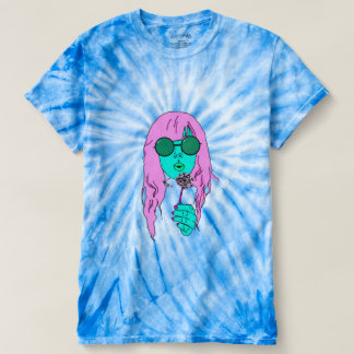 Pop Art Hippie Tie Dye Tee