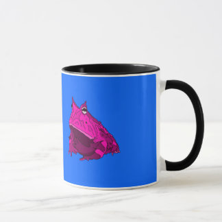 Pop Art Horny Frog Mug