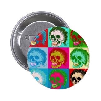 POP ART is dead! 6 Cm Round Badge