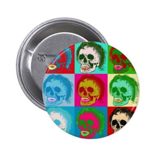 POP ART is dead! Pinback Button
