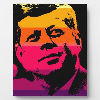 Pop Art Jack JFK John F. Kennedy Display Plaques