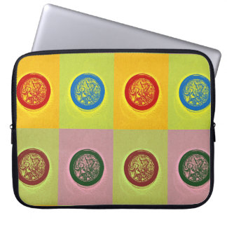 Pop art Javanese shadow puppet Laptop Computer Sleeve