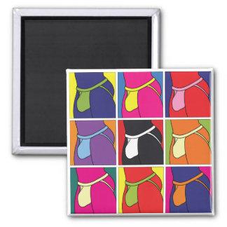 Pop Art Jockstrap Fantasy Magnet