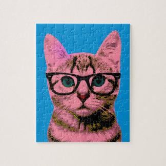 Pop Art Kitten Jigsaw Puzzle