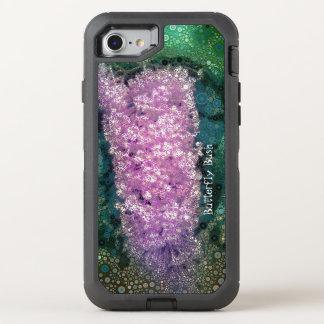 Pop Art Lavender Butterfly Bush Green Otterbox OtterBox Defender iPhone 8/7 Case