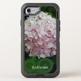 Pop Art Lavender Hydrangea Pink Green Otterbox OtterBox Defender iPhone 8/7 Case