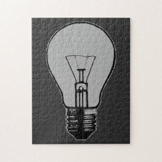 Pop Art Light Bulb Jigsaw Puzzle