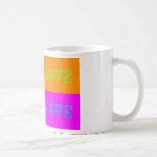 Pop Art Love Basic White Mug