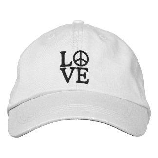 Pop Art LOVE Embroidered Hat