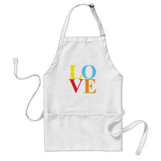 Pop Art LOVE Standard Apron