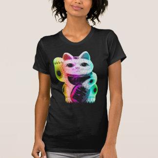 Pop Art Lucky Cat - Maneki Neko T-Shirt