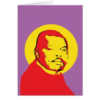 Pop Art Marcus Garvey Design Card