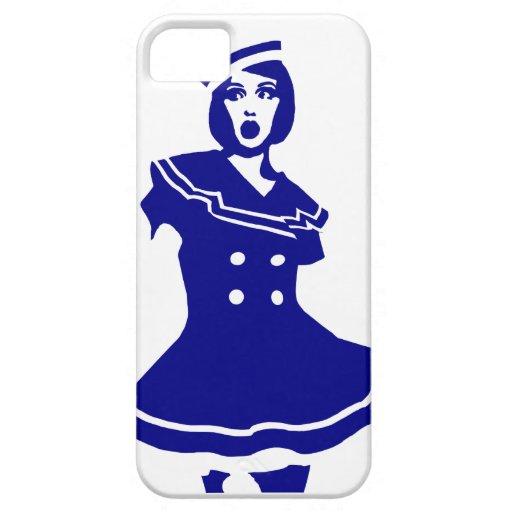 Pop Art - Maritime sexy Seemannsbraut iPhone 5 Cases