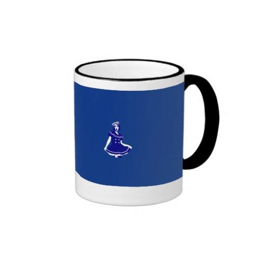 Pop Art - Maritime sexy Seemannsbraut Coffee Mugs