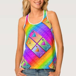POP ART MARTINIS TANK TOP