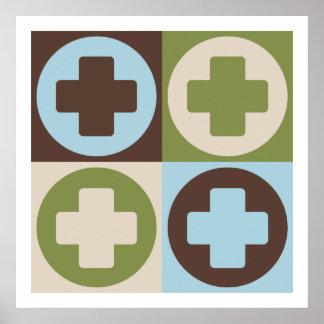 Pop Art Medical Assisting Poster