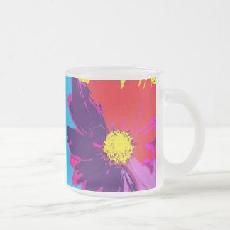 Pop ART Mod Color Pop Flower Beer Mug