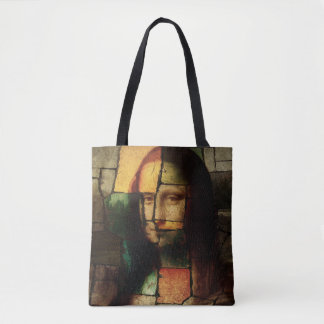 Pop Art Mona Lisa Tote Bag
