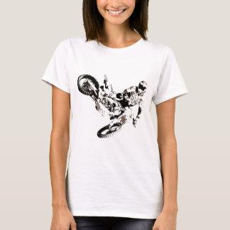 Pop Art Motocross Motorcyle Sport T-Shirt