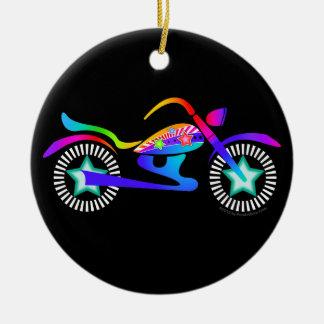 Pop Art MOTORCYCLE Ornament