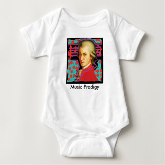 Pop Art Mozart Romper Baby Bodysuit