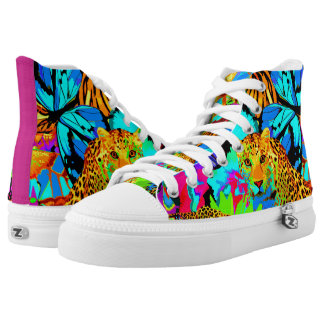Pop Art Nature Shoes, US Men 4 / US Women 6 High Tops