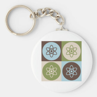 Pop Art Nuclear Engineering Key Ring