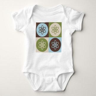 Pop Art Nuclear Physics Baby Bodysuit
