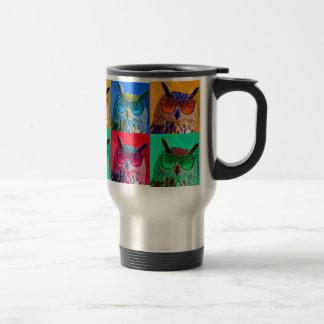 Pop art Owl Mug