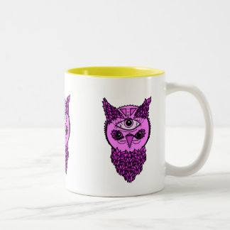 Pop Art Owl Mug