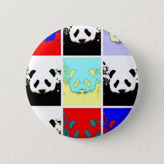 Pop Art Panda 6 Cm Round Badge