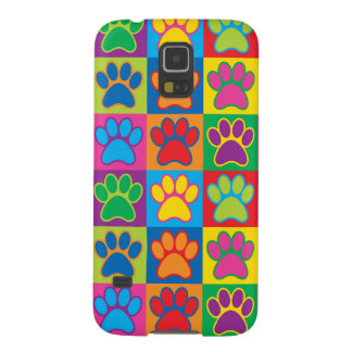 Pop Art Paws Galaxy S5 Case