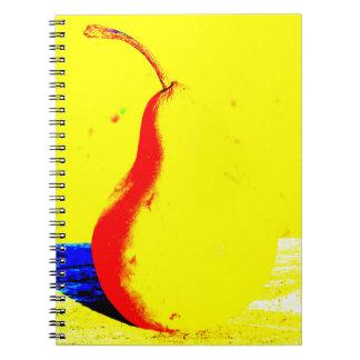 Pop Art Pear Notebook