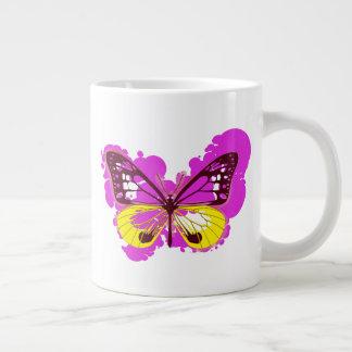 Pop Art Pink Butterfly Mug