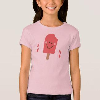 pop-art popsicle art t-shirt for girls