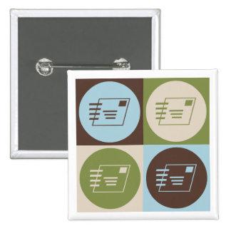 Pop Art Postal Service Pins