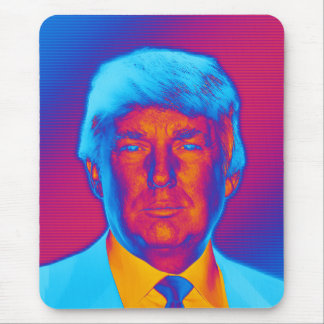Pop Art President Trump Mouse Pad