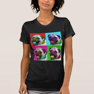 Pop Art Pug Women's Jersey T-Shirt