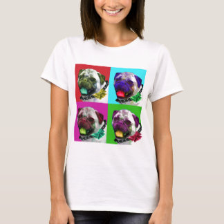 Pop Art Pug Women's T-Shirt