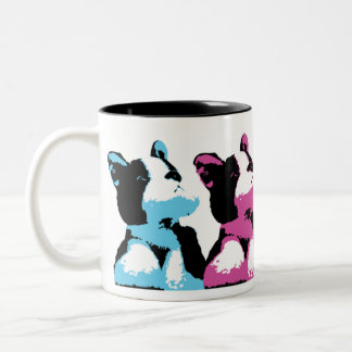 Pop Art Puppy Mug