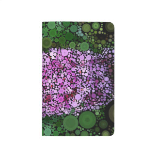 Pop Art Purple Butterfly Bush Summer Journal