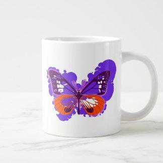 Pop Art Purple Butterfly Mug