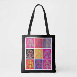 Pop Art Ribs Tote Bag