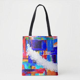 Pop Art Rice Market Bag