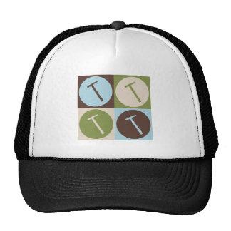 Pop Art Roofs Trucker Hats
