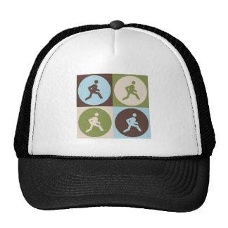 Pop Art Running Trucker Hats